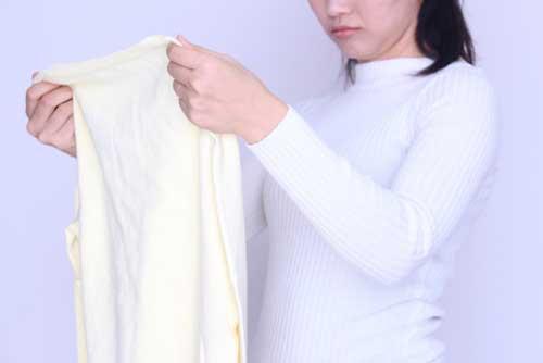 白っぽいもののしまい洗い