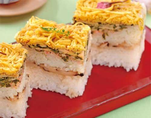 春色押し寿司