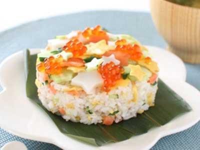 星空ちらし寿司