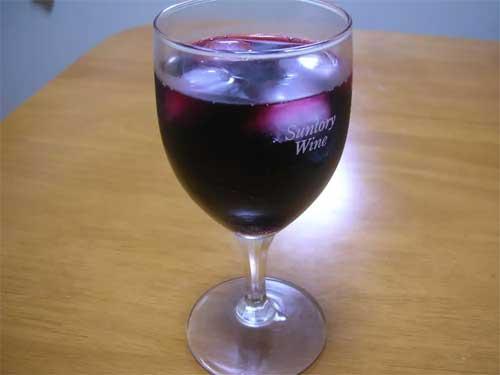 梅酒のワイン割り